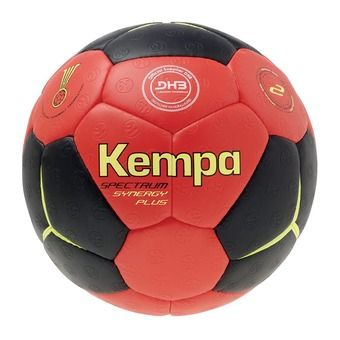 Ballon de handball SPECTRUM SYNERGY PLUS noir/rouge/jaune citron