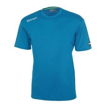 Camiseta hombre CORE POLY azul/kempa