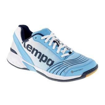 Zapatillas de balonmano mujer ATTACK THREE azul/blanco/marino