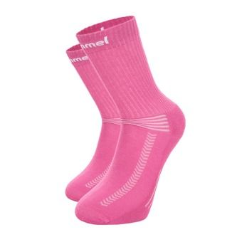 Calcetines INDOOR BAS rosa/blanco