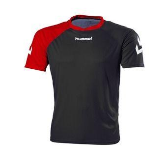 Camiseta hombre NEXO negro/rojo