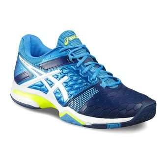 Zapatillas de balonmano hombre GEL-BLAST 7 blue jewel/white/safety yellow