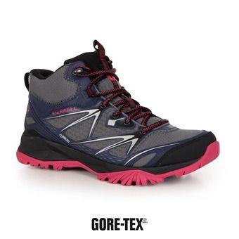 Chaussures randonnée femme CAPRA BOLT MID GTX plum plumeria