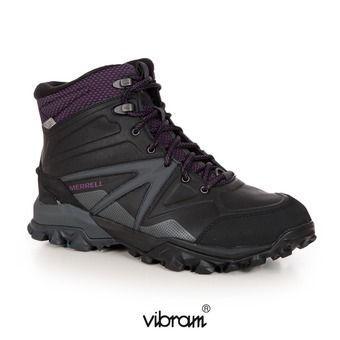 Zapatillas de senderismo mujer CAPRA GLACIAL ICE black