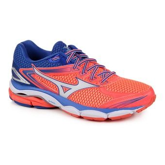 Chaussures running femme WAVE ULTIMA 8 fierycoral/white/dazblue