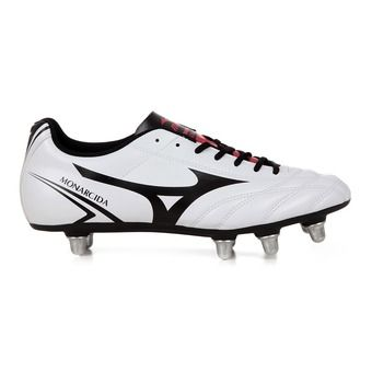 Zapatillas rugby hombre MONARCIDA SI white/black/chinese red