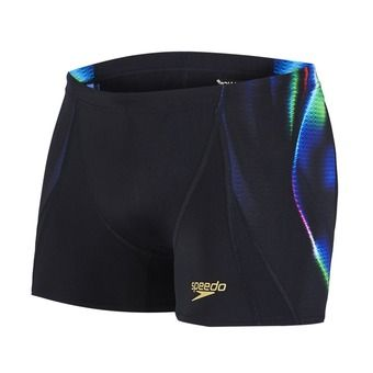 Boxer homme PLACEMENT DIGITAL black/fluo green/deep peri