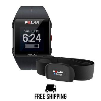 Montre GPS V800 HR noir