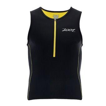 Débardeur 1/2 zip trifonction homme PERFORMANCE black/pure yellow