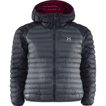 Doudoune à capuche outdoor femme ESSENS MIMIC GTX magnetite/true black