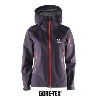 Veste alpinisme femme ROC SPIRIT GTX acai berry