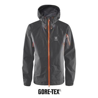 Chaqueta alpinismo hombre ROC SPIRIT GTX magnetite