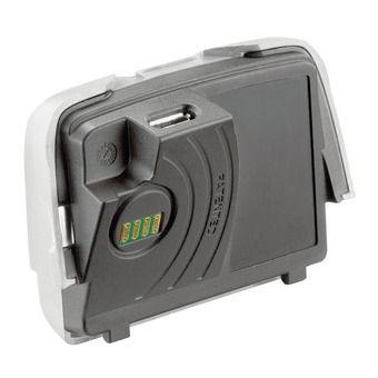 Batterie rechargeable pour lampe frontale REACTIK et REACTIK PLUS noir