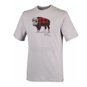 Camiseta hombre CSC CHECK THE BUFFALO™ grey heather