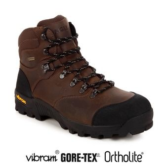 Zapatillas de senderismo/caza hombre ALTAVIO GTX sepia/black