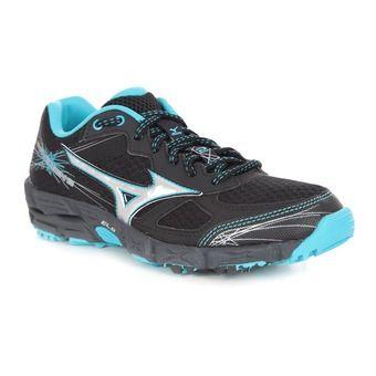 Chaussures trail femme WAVE KIEN 2 black/silver/blue atoll