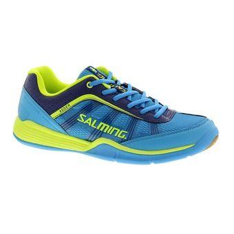 Zapatillas indoor balonmano hombre ADDER azul/amarillo