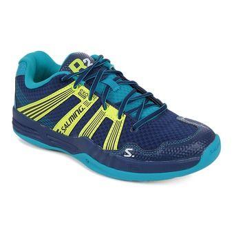 Chaussures handball homme RACE R2 2.0 marine/jaune