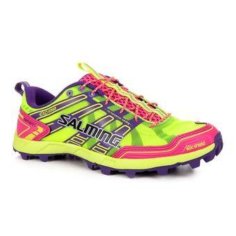 Chaussures trail femme ELEMENTS jaune/rose