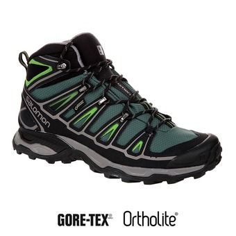 Zapatillas de senderismo hombre X ULTRA MID 2 GTX bettle green/black