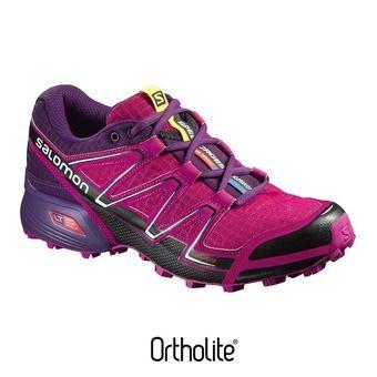 Zapatillas trail mujer SPEEDCROSS VARIO deep dalhia/black/cosmic purple