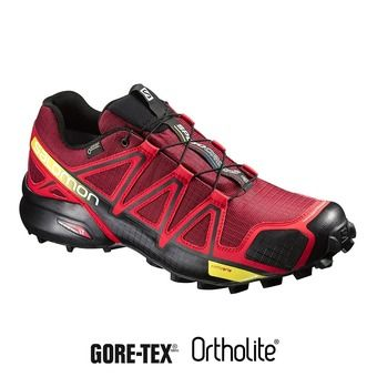 Chaussures trail homme SPEEDCROSS 4 GTX brique-x/radiant red/black