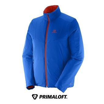 Veste réversible homme drifter brilliant blue/lava orange