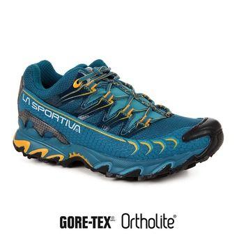 Zapatillas de trail mujer ULTRA RAPTOR GTX fjord/papaya