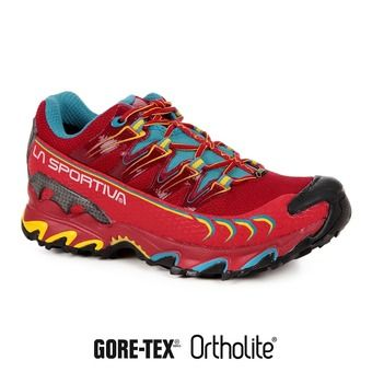 Zapatillas de trail hombre ULTRA RAPTOR GTX berry