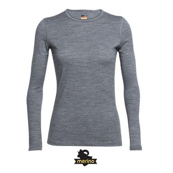 Sous-couche ML femme OASIS CREWE gritstone hthr