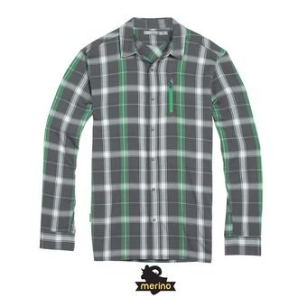 Chemise ML homme COMPASS metal/balsam