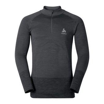 Camiseta térmica hombre QUAGG odlo graphite grey/grey melange