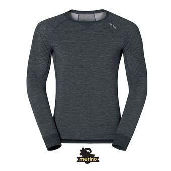 Camiseta térmica hombre REVOLUTION TW X-WARM black melange