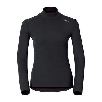 Camiseta térmica mujer WARM DROIT black