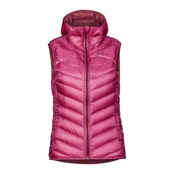 Chaleco mujer AIR COCOON sangria