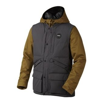 Veste de ski homme BLACK FOREST BZD forged iron