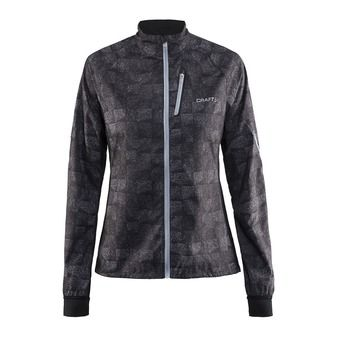 Chaqueta mujer DEVOTION square grey/argent
