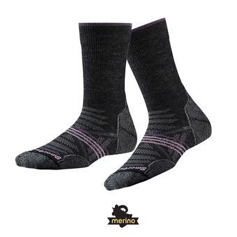Calcetines de esquí mujer SKI MEDIUM charcoal