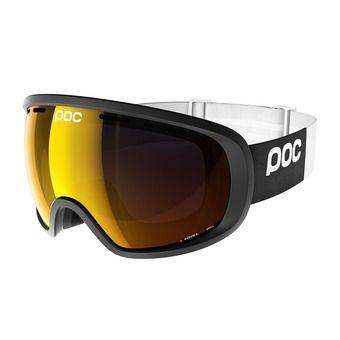 Masque de ski FOVEA uranium black- pink/gold mirror