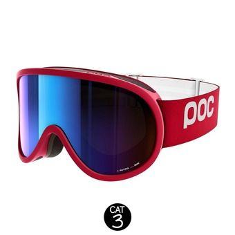 Masque de ski RETINA glucose red-bronze/silver mirror