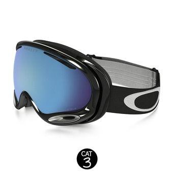 Masque de ski A-FRAME 2.0 jet black - prizm sapphire iridium