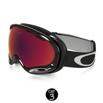 Masque de ski A-FRAME 2.0 jet black - prizm torch iridium