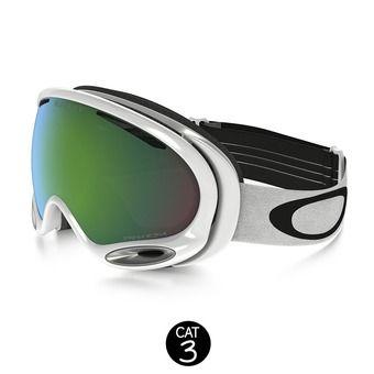 Gafas de esquí A-FRAME 2.0 polished white - prizm jade iridium
