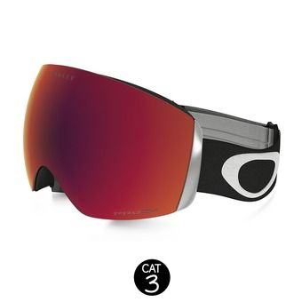 Masque de ski FLIGHT DECK matte black - prizm torch iridium®