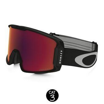 Masque de ski LINE MINER matte black - prizm torch iridium