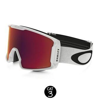 Gafas de esquí LINE MINER matte white - prizm torch iridium