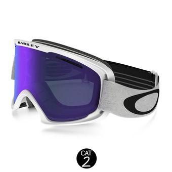 Gafas de esquí O2 XL matte white - violet iridium
