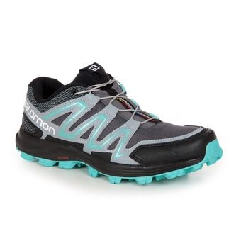 Chaussures trail femme SPEEDTRAK dark cloud/light onix/bubble blue