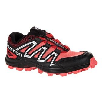 Chaussures trail femme SPEEDTRAK coral punch/black/red