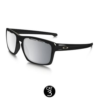 Gafas de sol SLIVER polished black/chrome iridium vented